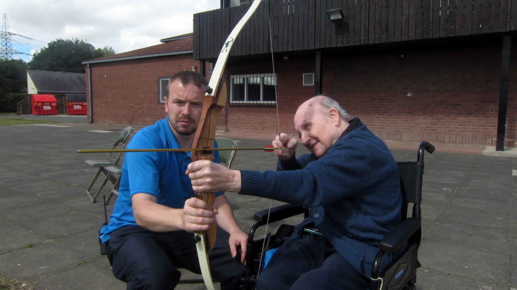 Archery with The Grange Day Centre and Club Venue, Throckley