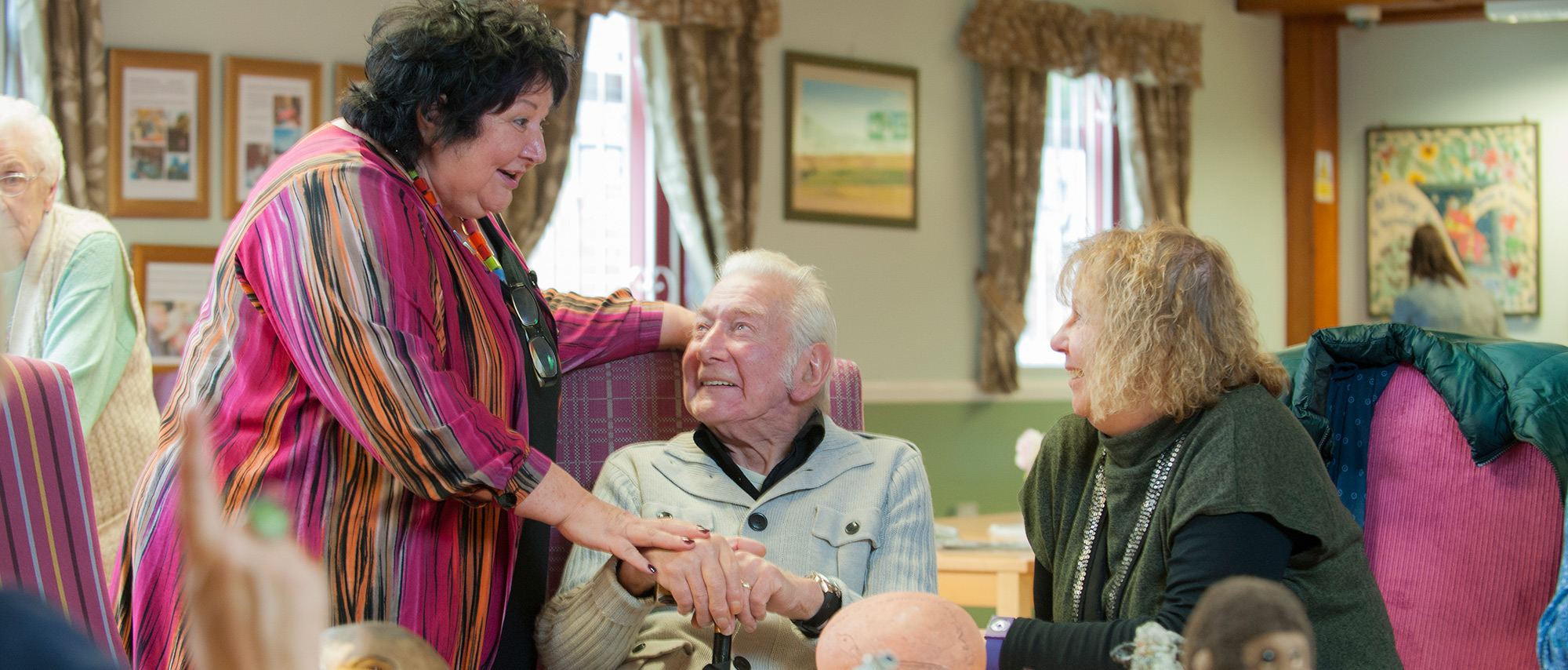 Care for elderly relatives at The Grange Day Centre and Club Venue, Throckley