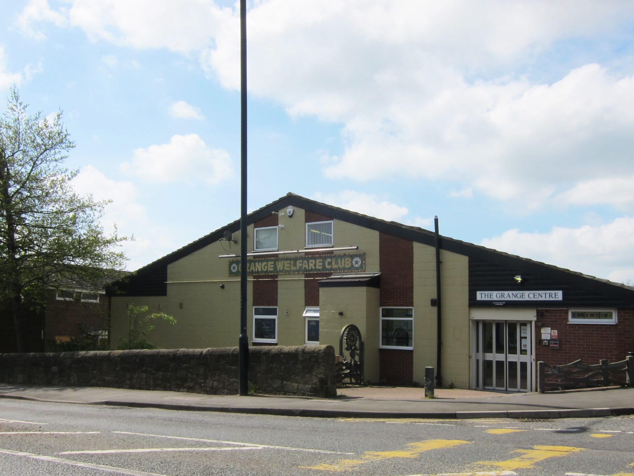 The Grange Day Centre and Club Venue, Throckley